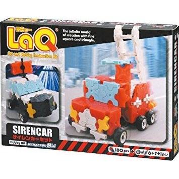 LaQ stavebnica - Hobby Kit Siren Car